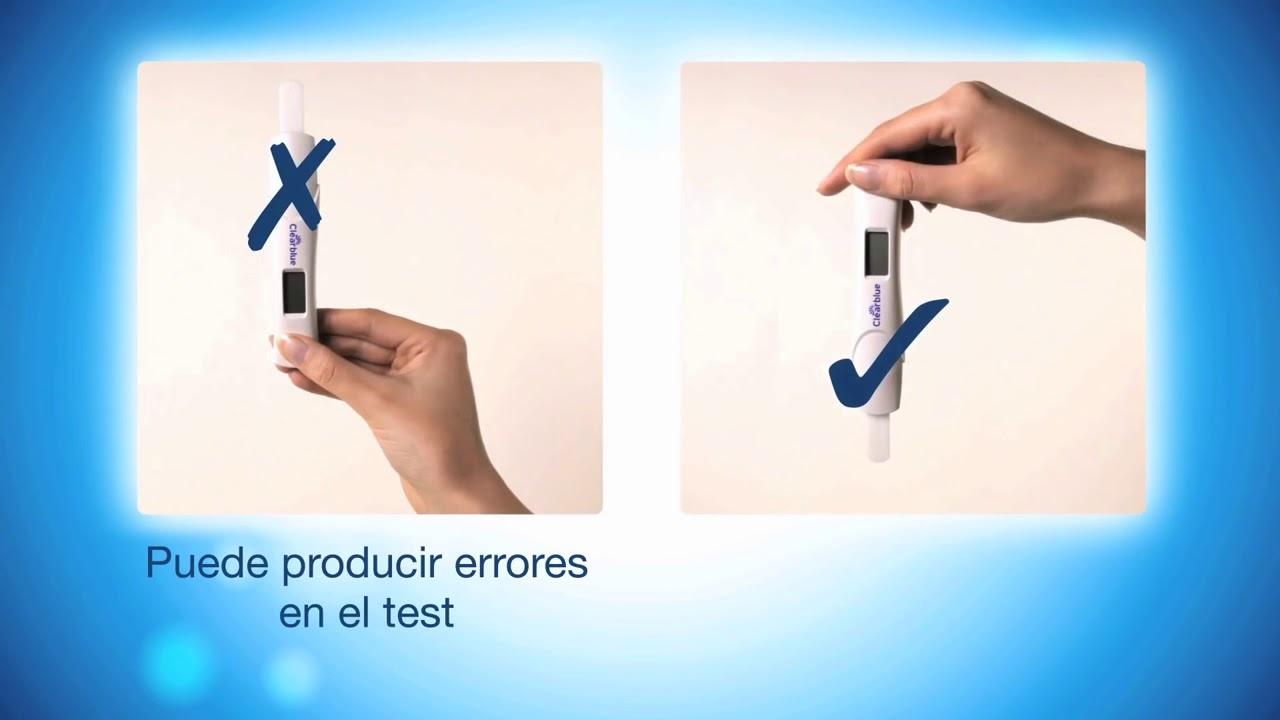 como realizar prueba de embarazo clearblue