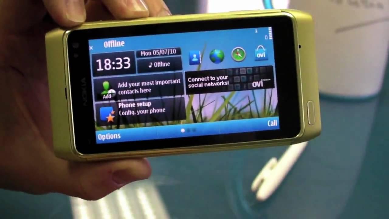 Nokia N8, principales características - YouTube