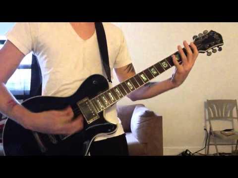 evanescence my last breath(guitar)cover