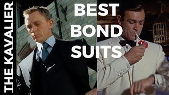 (00)7 Coolest James Bond Suit Moments | The Suits of James Bond