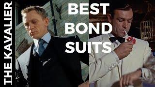 (00)7 Coolest James Bond Suit Moments | The Suits of James Bond