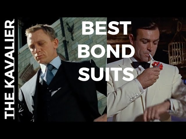 00 7 Coolest James Bond Suit Moments The Suits Of James Bond Youtube