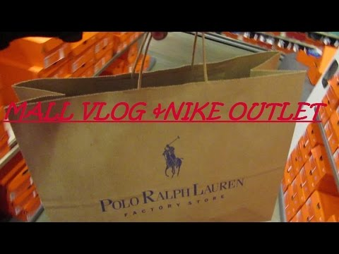 Mall Vlog & Nike Outlet!!