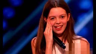 Una adolescente de otra era asombra al jurado de 'America's Got Talent'