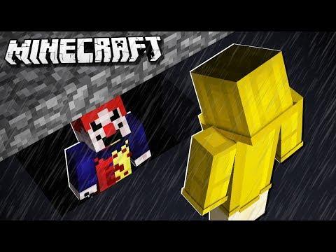 ESCAPE THE IT CLOWN in Minecraft!