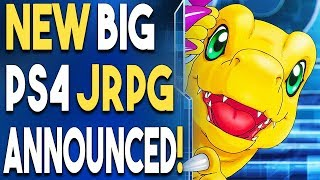 NEW BIG PS4 JRPG ANNOUNCED! Get a FREE Game Demo NOW!