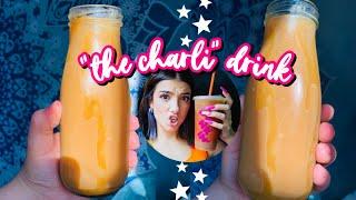 How To Make The Charli Drink At Home!  Dunkin Donuts The Charli Drink Recipe  Paola Espinoza