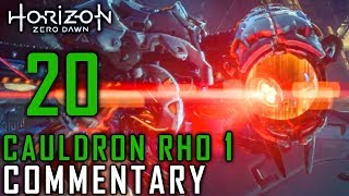 Horizon Zero Dawn Walkthrough - Part 20 - Cauldron Rho (1/2)