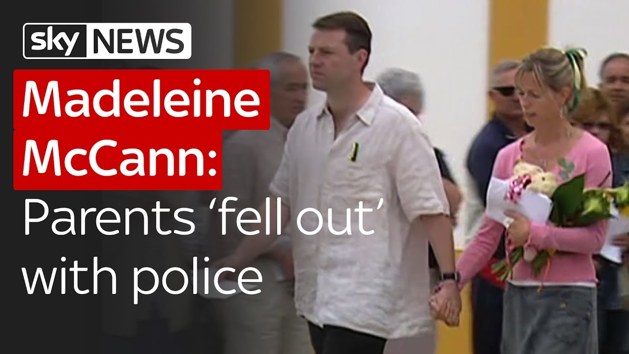 Madeleine McCann: Kate and Gerry 'fell out' with police over search