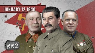 The Red Army Regroups to Crush Finland - WW2 - 020 - January 12 1940