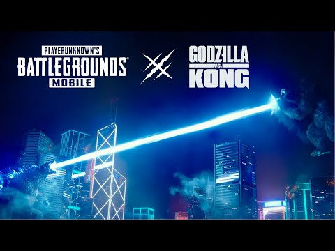 PUBG MOBILE x Godzilla vs. Kong | KEREN BANGET!!!