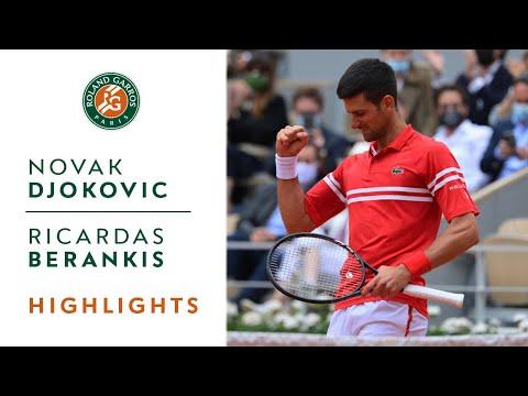 Novak Djokovic vs Ricardas Berankis - Round 3 Highlights I Roland-Garros 2021