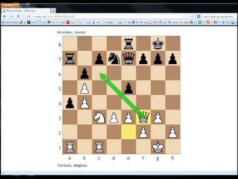 Modern Chess #13 - Zurich 2014 Round 2: Carlsen vs Aronian
