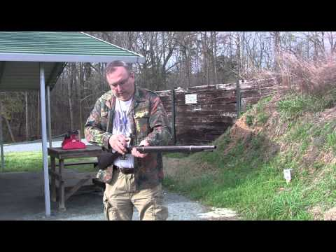 Shooting The 50-70 Springfield Trapdoor rifle