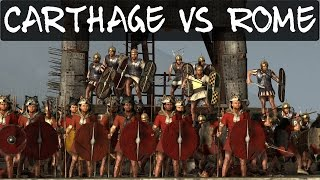 Total War Rome 2 Online Battle 167 Carthage VS Rome