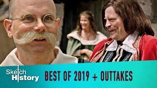 Best of 2019 plus neue Clips und Outtakes Sketch History & Götter wie wir