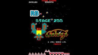 1981 [60fps] Galaga Stage 255 (Skip the challenging stages)