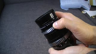 Meyer Optik Goerlitz Orestor 135mm 2,8 боке монстр распаковка
