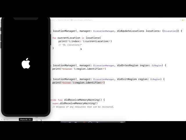 Location based notifications - iOS Swift Development