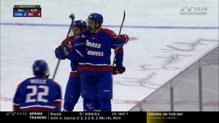 UMass Lowell At Boston College - 2021 Hockey East Men's Semifinal Goal Highlights