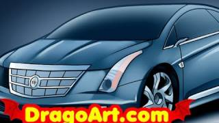 a 2013 cadillac elr drawing lesson