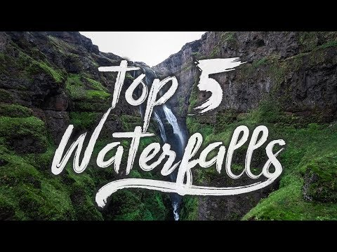 MY TOP 5 WATERFALLS IN ICELAND
