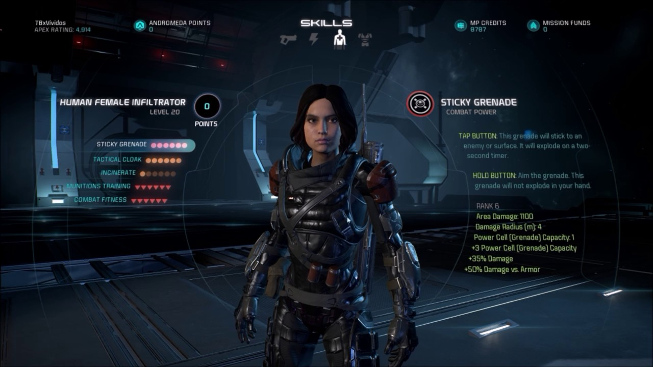 Image Result For Infiltrator Build Mass Effect