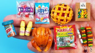 24 DIY MINIATURE FOOD REALISTIC HACKS AND CRAFTS COLLECTION !!!