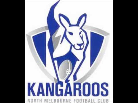 NORTH MELBOURNE KANGAROOS    THEME SONG!!!!!!!!!!!!!!!!!!!