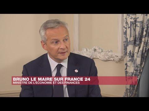 """L'Entretien - Bruno Le Maire : """"La taxe française a servi de levier pour convaincre les États-Unis"""""""