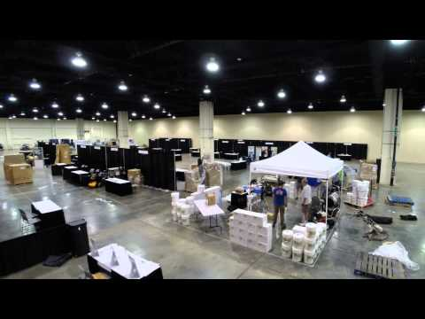 WCRA - PWRA Convention 2015, Vendor Setup