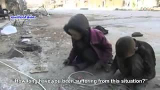 Syrian abandoned Children