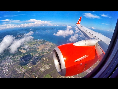 Lion Air Boeing 737-800NG AMAZING LANDING in Lombok, Indonesia