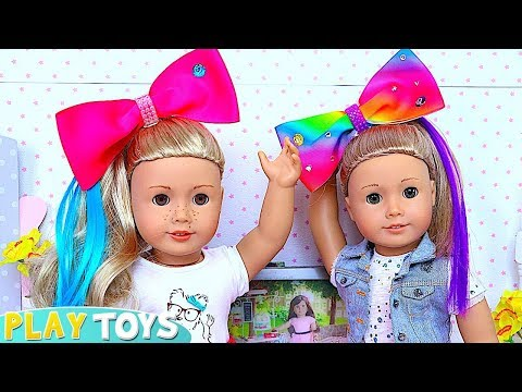 Baby Doll Hair Cut Shop Make Up Toys Shimmer Shine Dyi Hairstyle Make Up For American Gi