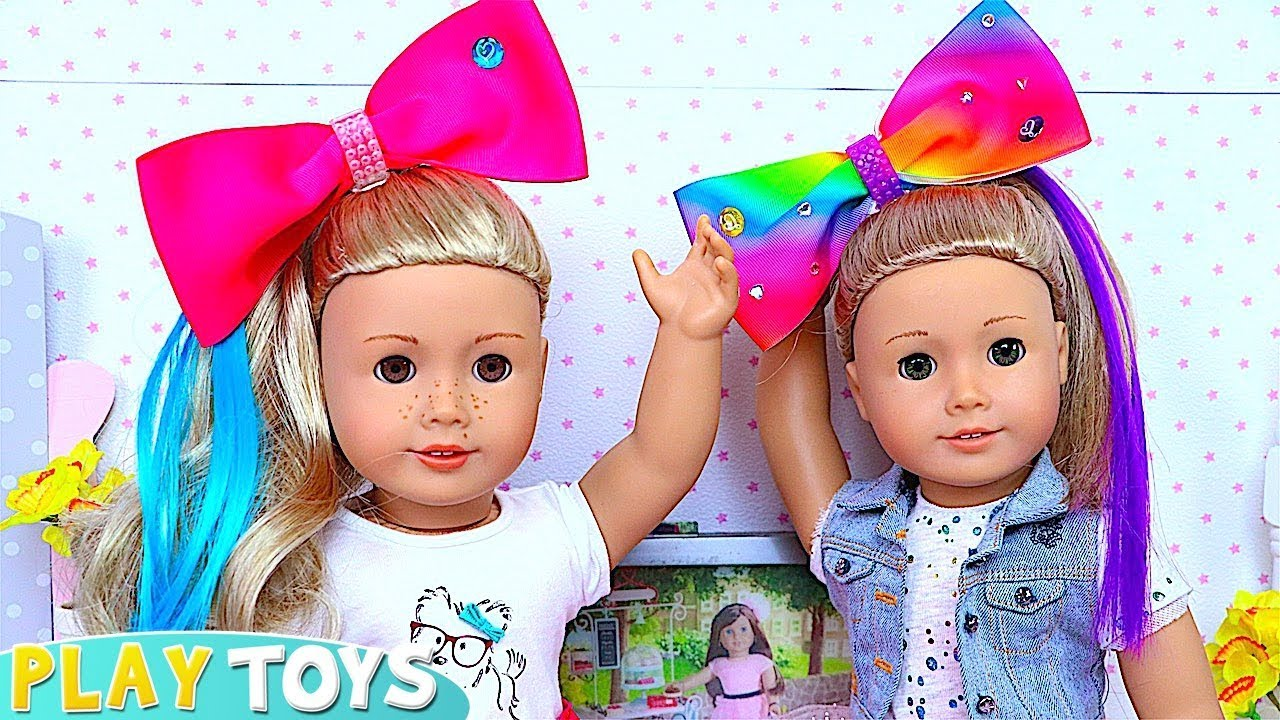 Ag Baby Dolls Play Hairstyle Amp Makeup Toys Youtube