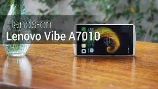Hands-on: Lenovo Vibe A7010 - Tudocelular.com