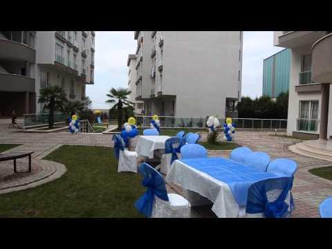 sünnet düğünü masa sandalye süsleme balon süsleme