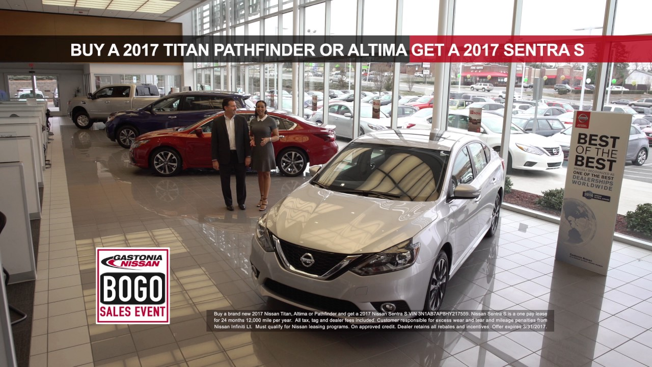 Gastonia Nissan: Buy One of Those Get One of These! - YouTube