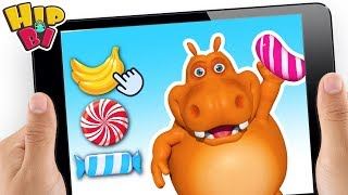 Funny Hippo Baby Play Talking Game Toys For Kids Hip Bi
