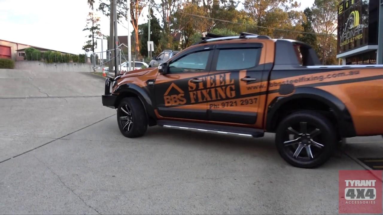 Ford ranger px2 wildtrak accessories bbs steel fixing
