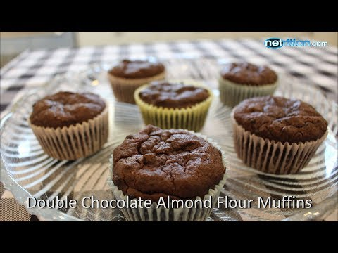 Double Chocolate Almond Flour Muffins