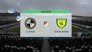 Spezia vs Chievo Verona   Serie B (11/08/2020)   Fifa 20