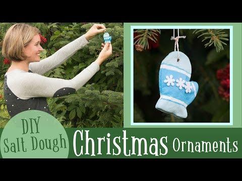 Salt Dough Ornaments for Christmas   Easy Salt Dough Recipe   DIY Crafts