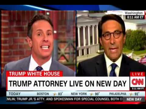Lawyer Chris Cuomo and Trump Lawyer Jay Sekulow fight it out over Donald Jr Russian emails on CNN