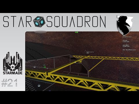 StarMade :: Star Squadron :: Start Of The Shipyard :: Ep. 21