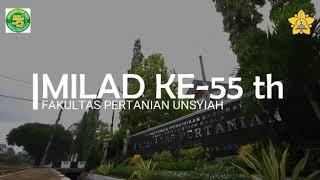 Milad Fakultas Pertanian Unsyiah Ke-55 Tahun 2019