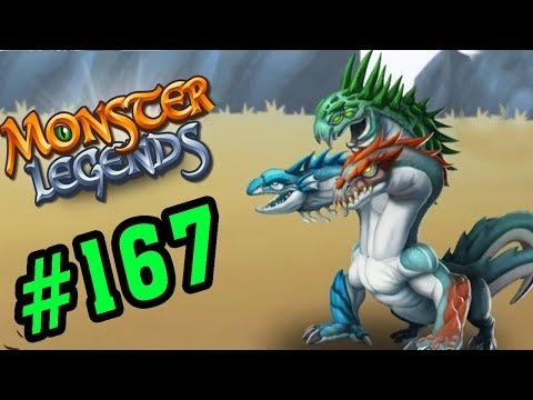 Monster Legends Game Mobiles - Đánh Bại Rồng 3 Đầu - Thế Giới Quái Vật #167