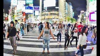 Сибуя - самый большой перекрестрок в мире| Токио |ЯПОНИЯ