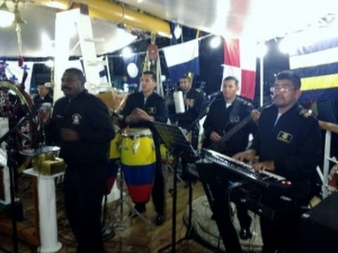 BUQUE ESCUELA GUAYAS CAPTAINS PARTY 23TH AUGUST 2012  /TALL SHIPS DUBLIN