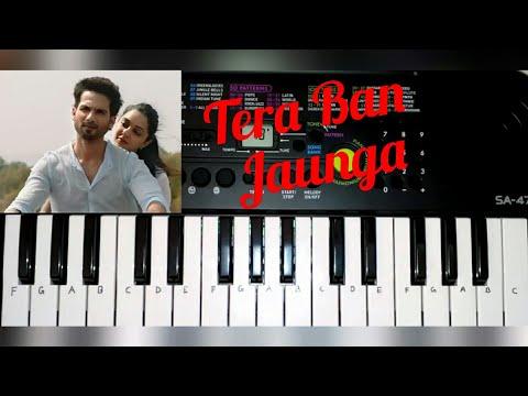 tera-ban-jaunga-song-from-kabir-singh-on-paino-(casio-sa-47)-by-madan-mali